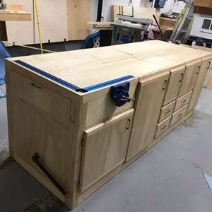 Reader Project:  Mobile Flip-Top Workbench