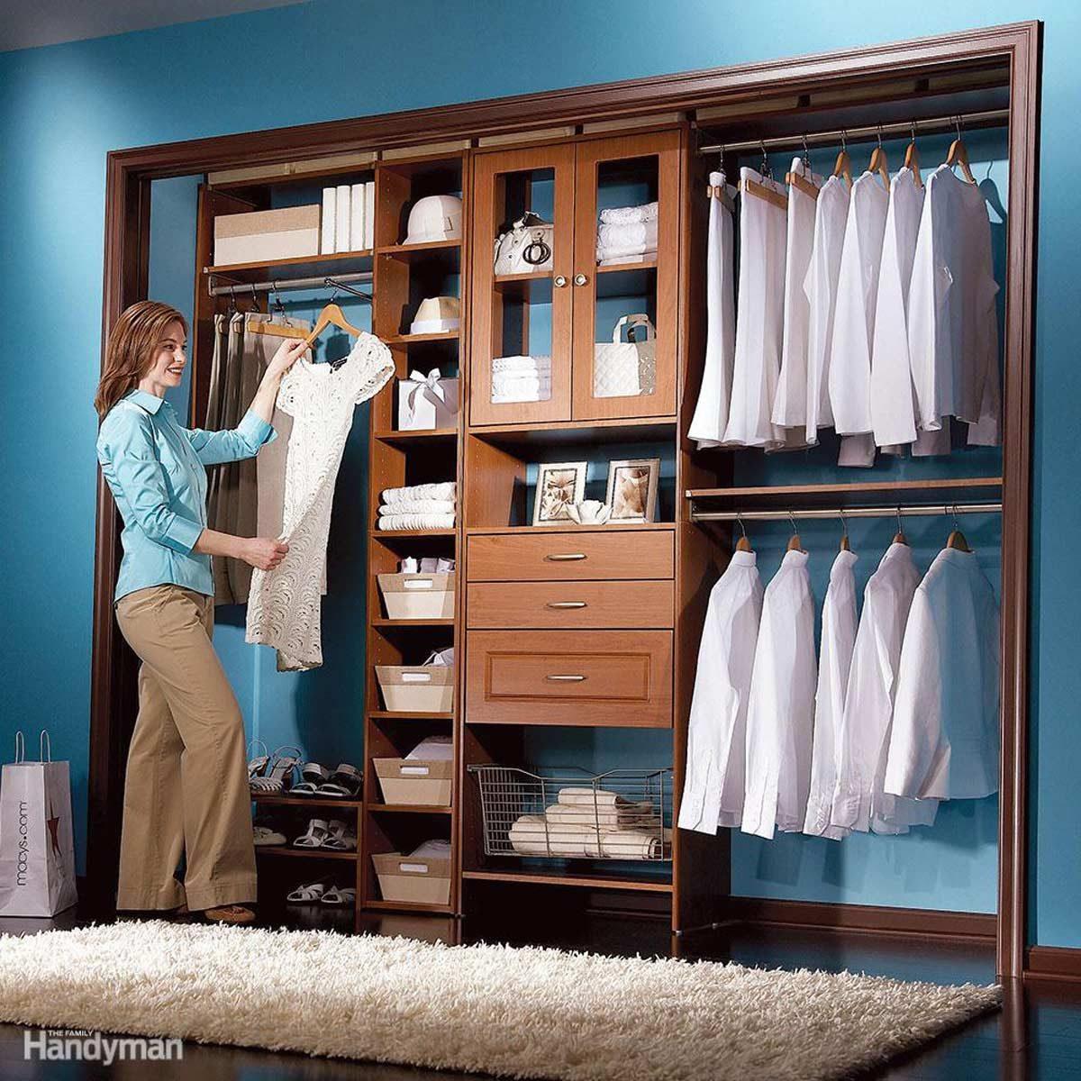 Reorganize the Closet