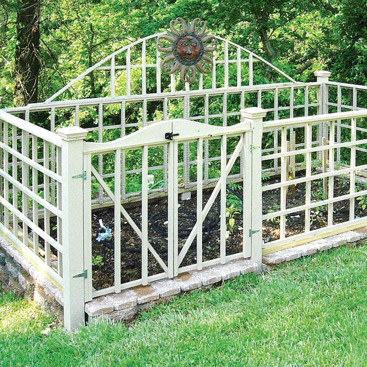 Stylish Garden Fence