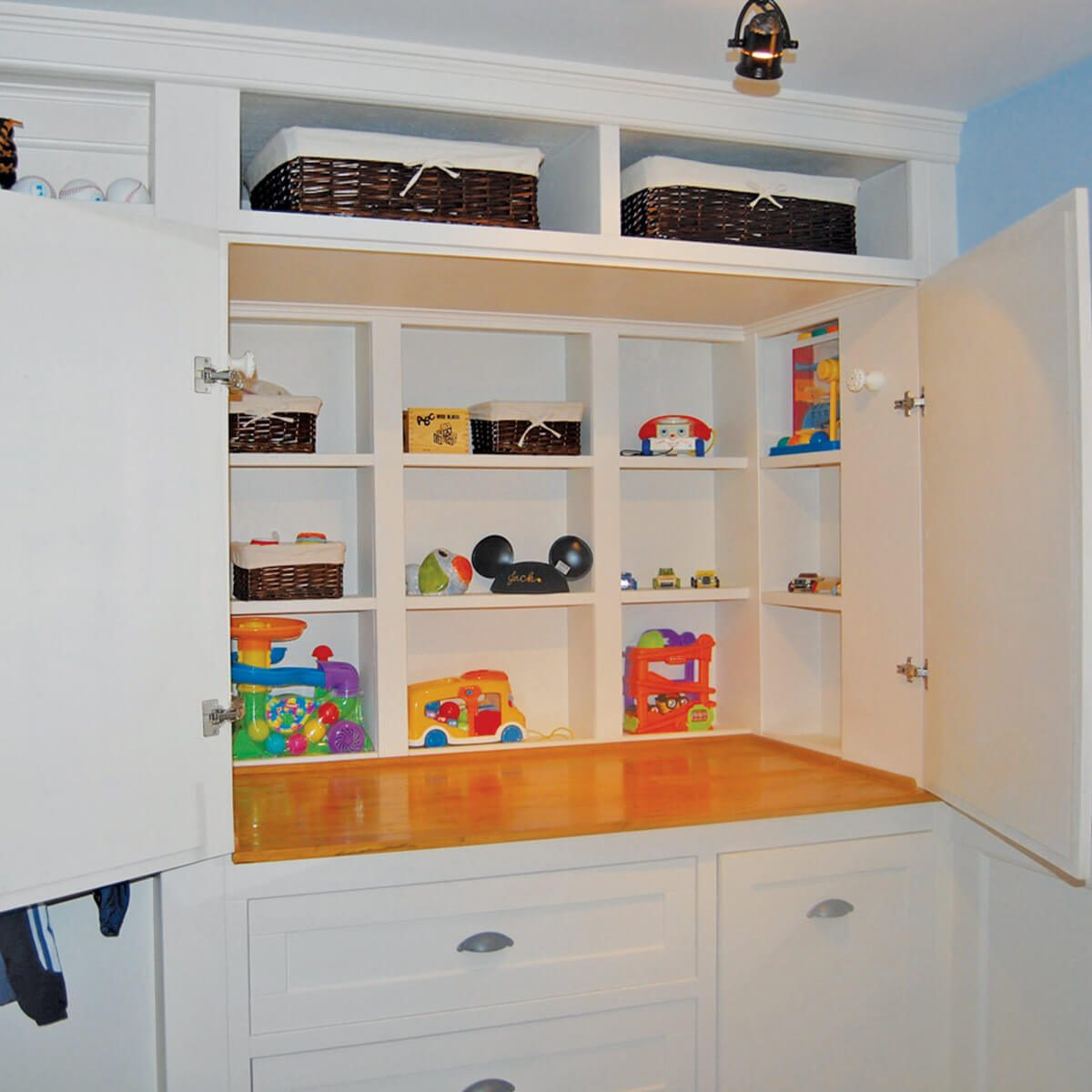 Closet to Cabinet