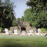 Reader Project: Massive Backyard Stone Fireplace