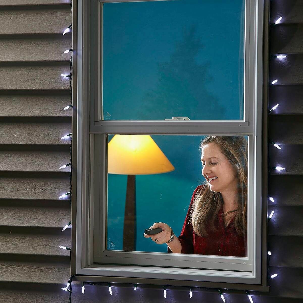 Easy outside light control