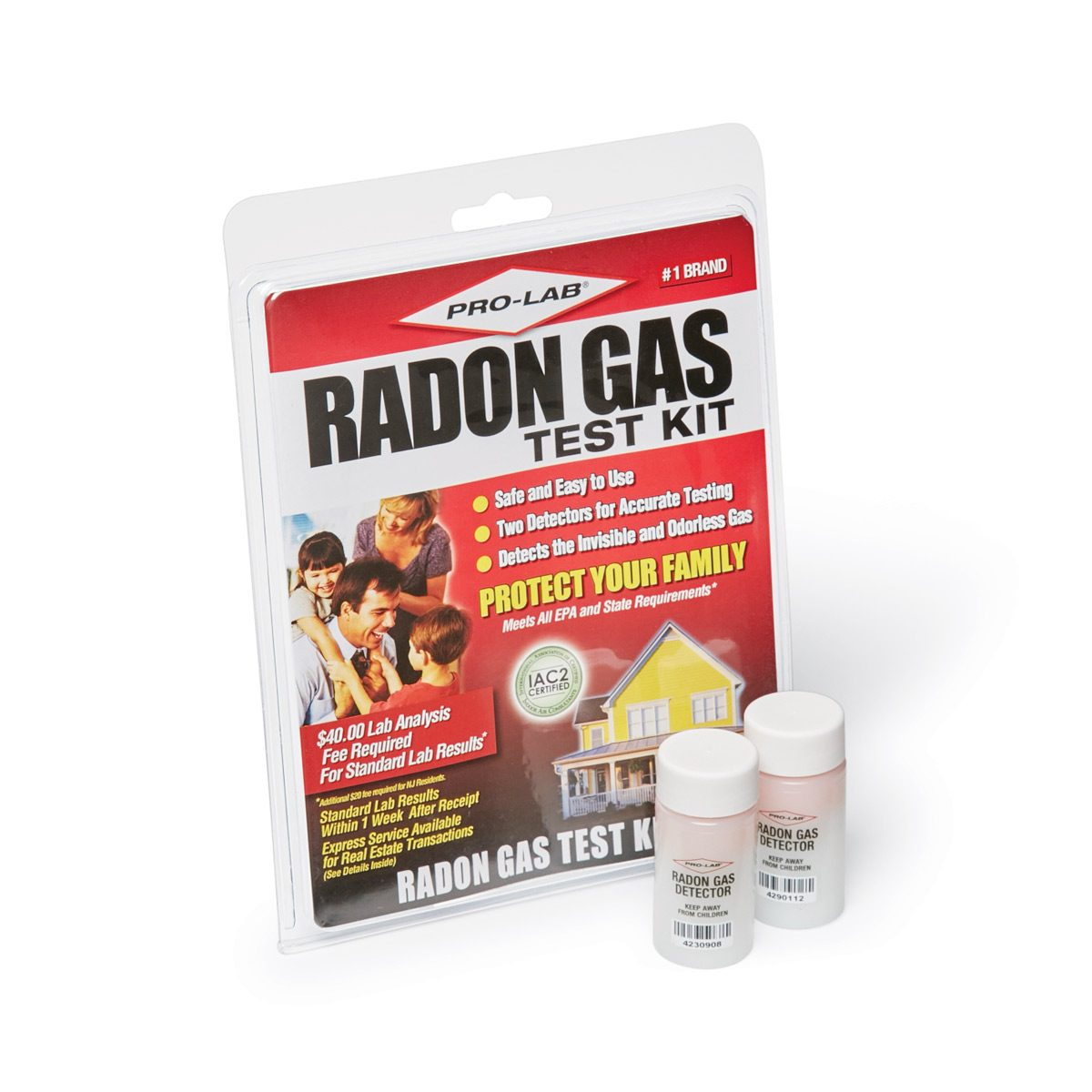 How do you test for radon?