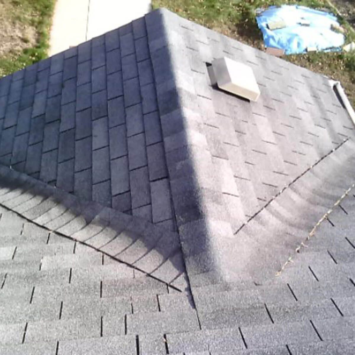 Ridge shingles aren't just for ridges anymore