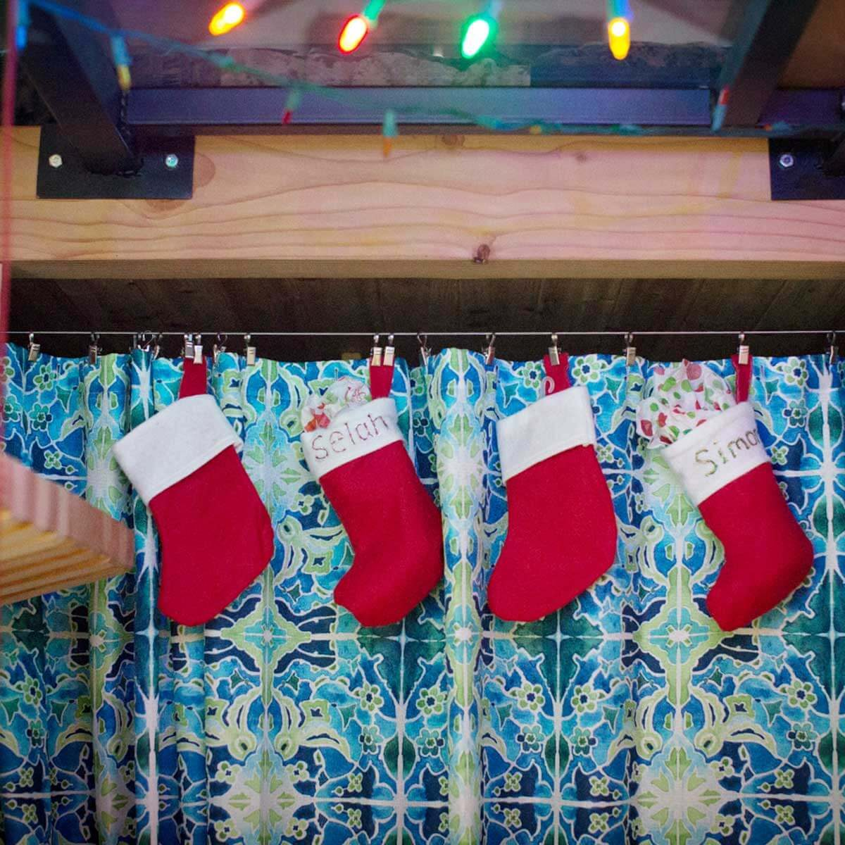 Tiny Stockings for the Tiny Home