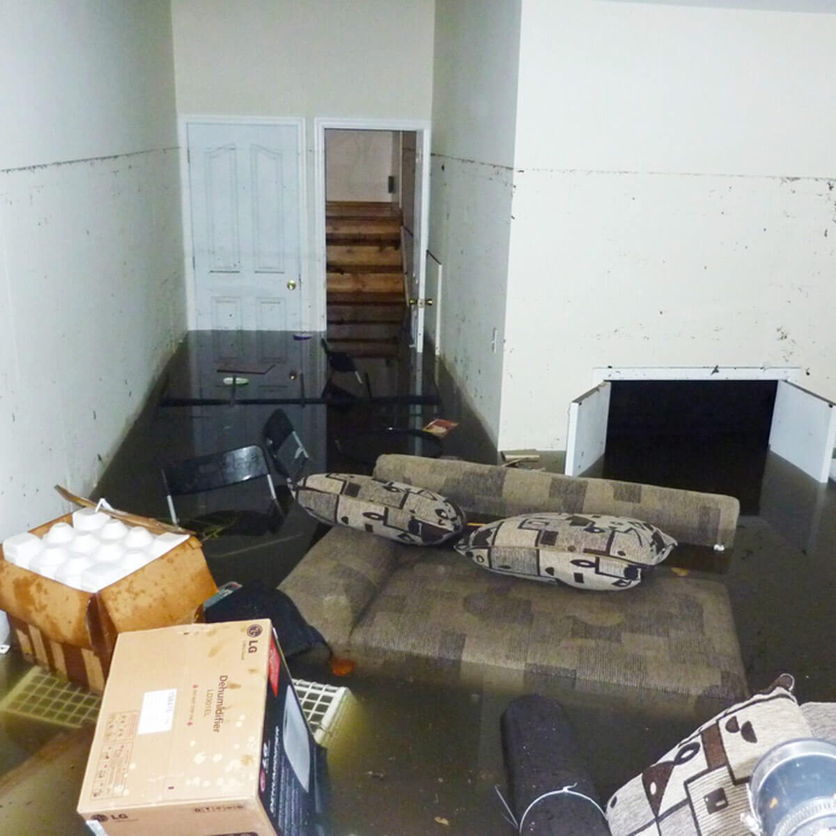 Don't Get Shocked In a Flooded Basement