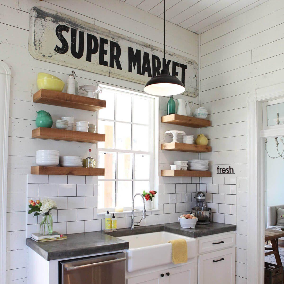 Perfect Farmhouse Kitchen