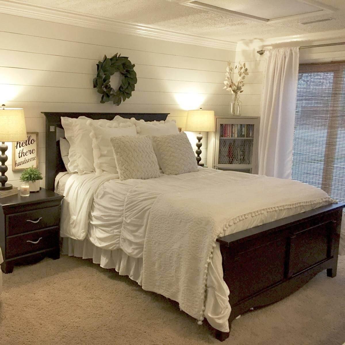 Shiplap Guest Bedroom