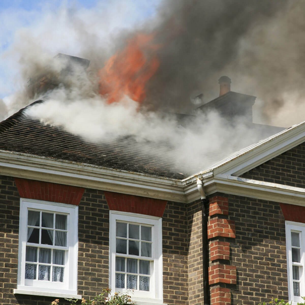 What to Do if There's a Fire in Your Home...