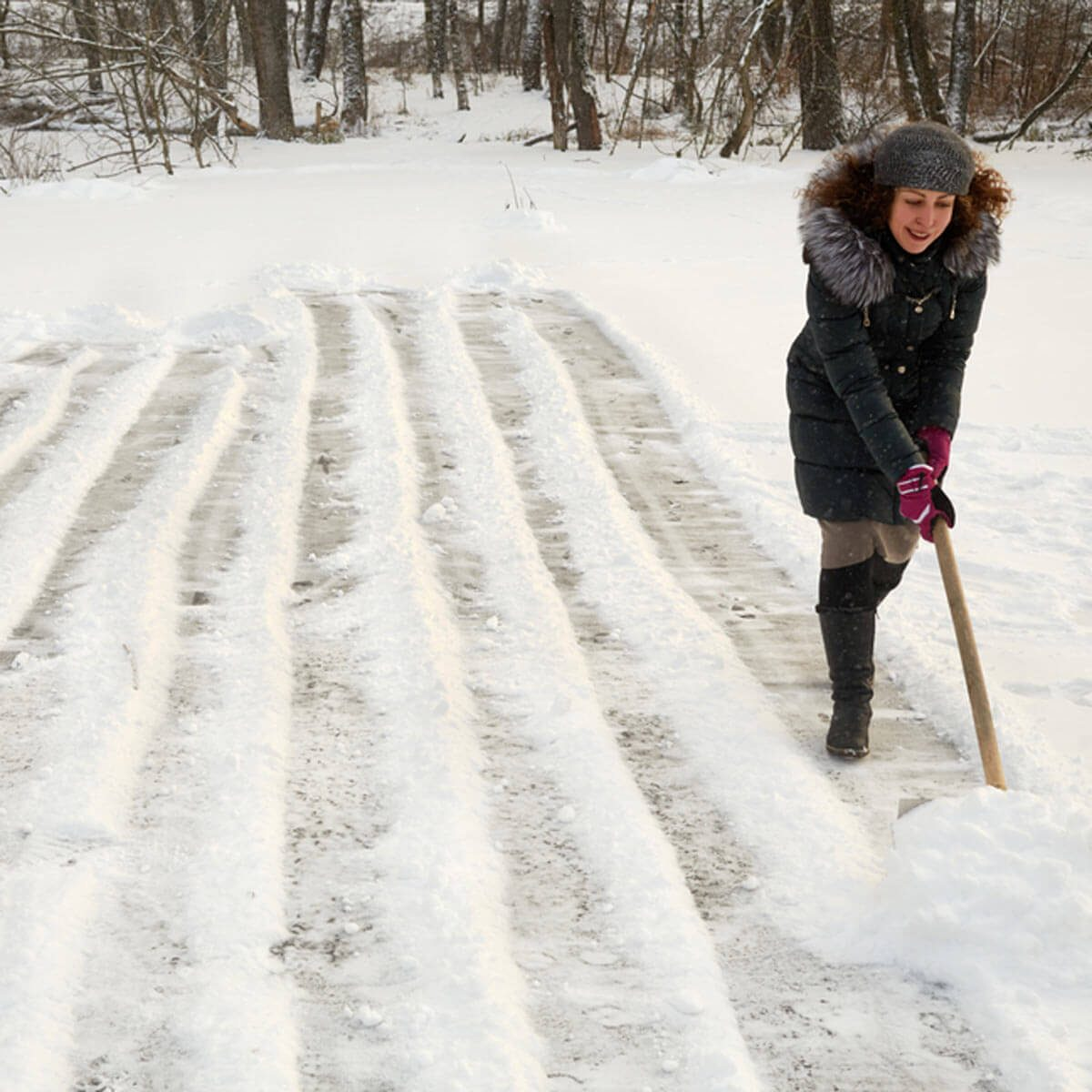 Keep the Backyard Ice Rink Clear