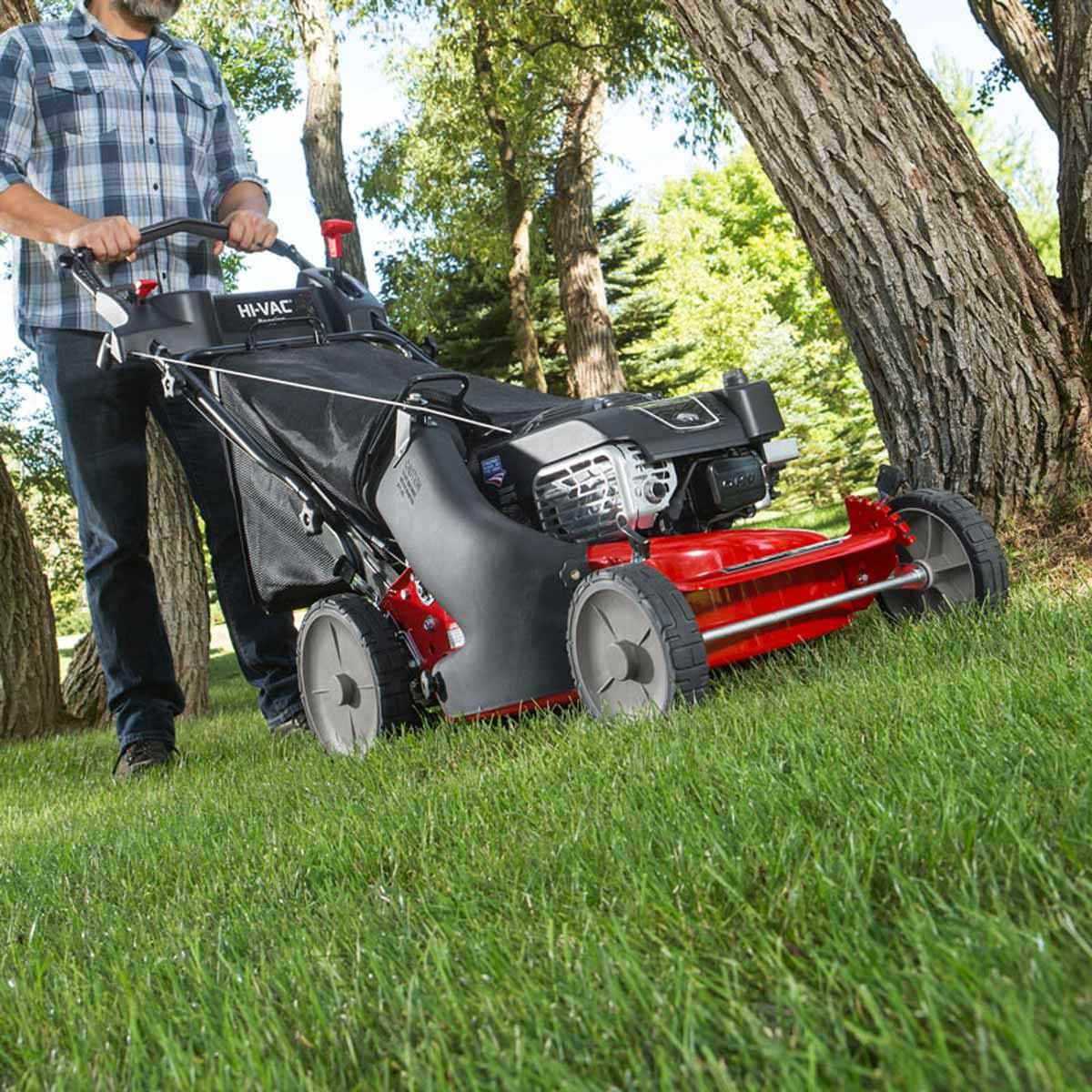 "Myth: ""If I cut the grass short, I won't have to mow as often"""