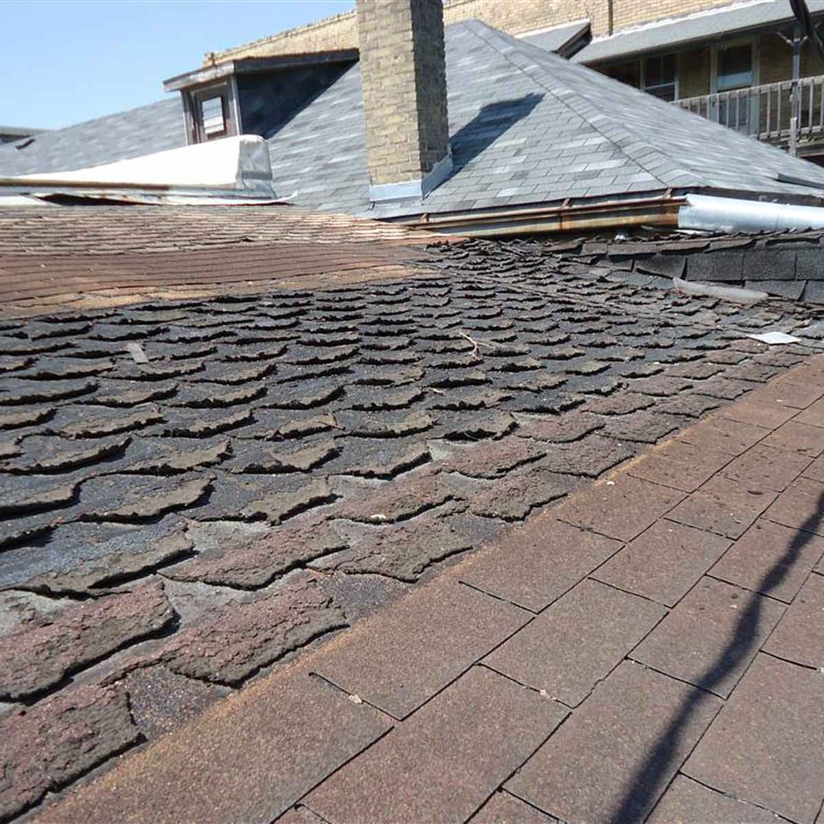 Step-by-step roof replacement
