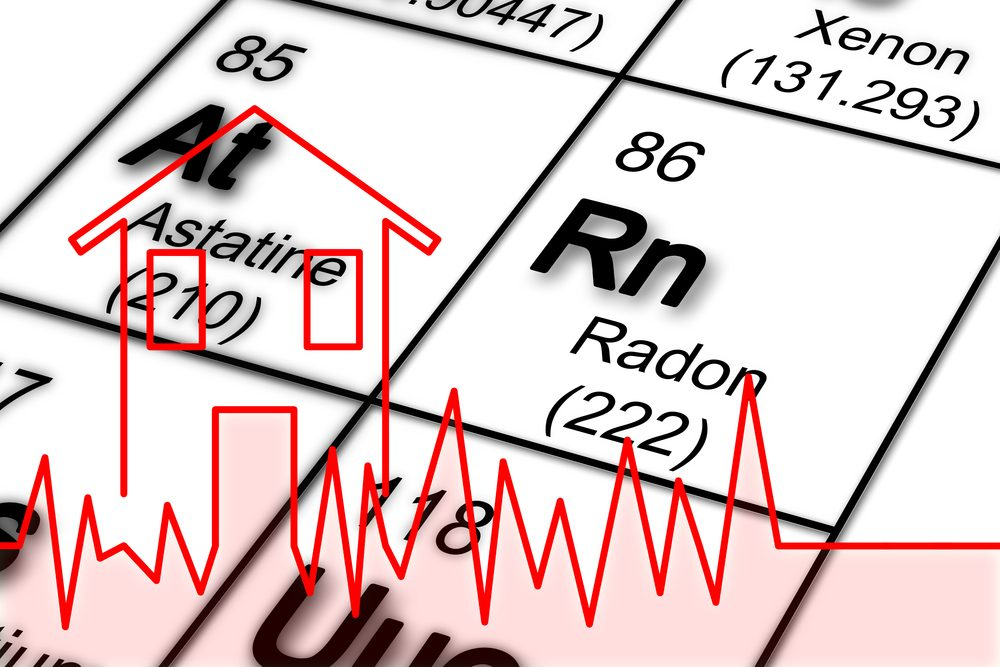 How does a radon reduction system work?