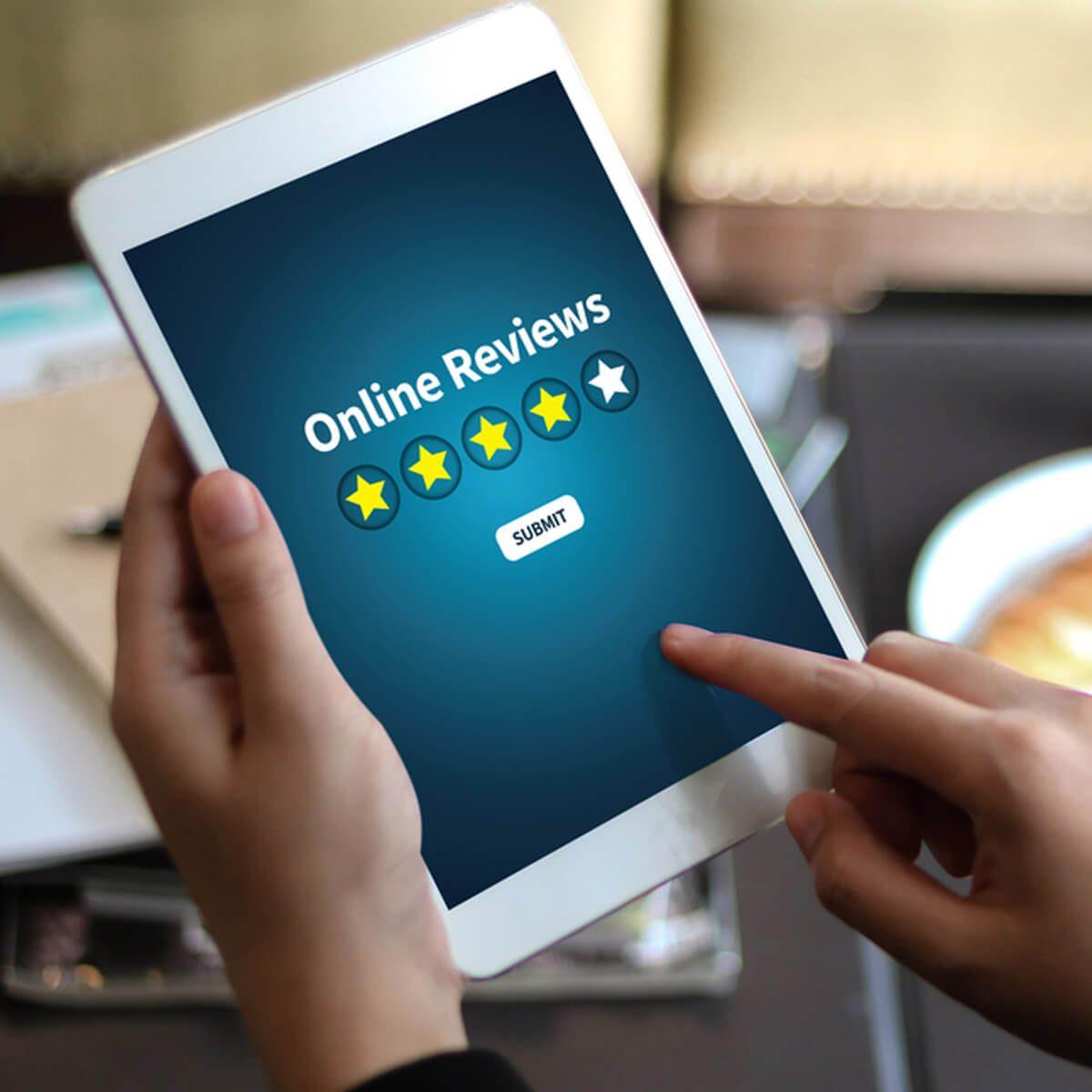 Look at Online Reviews