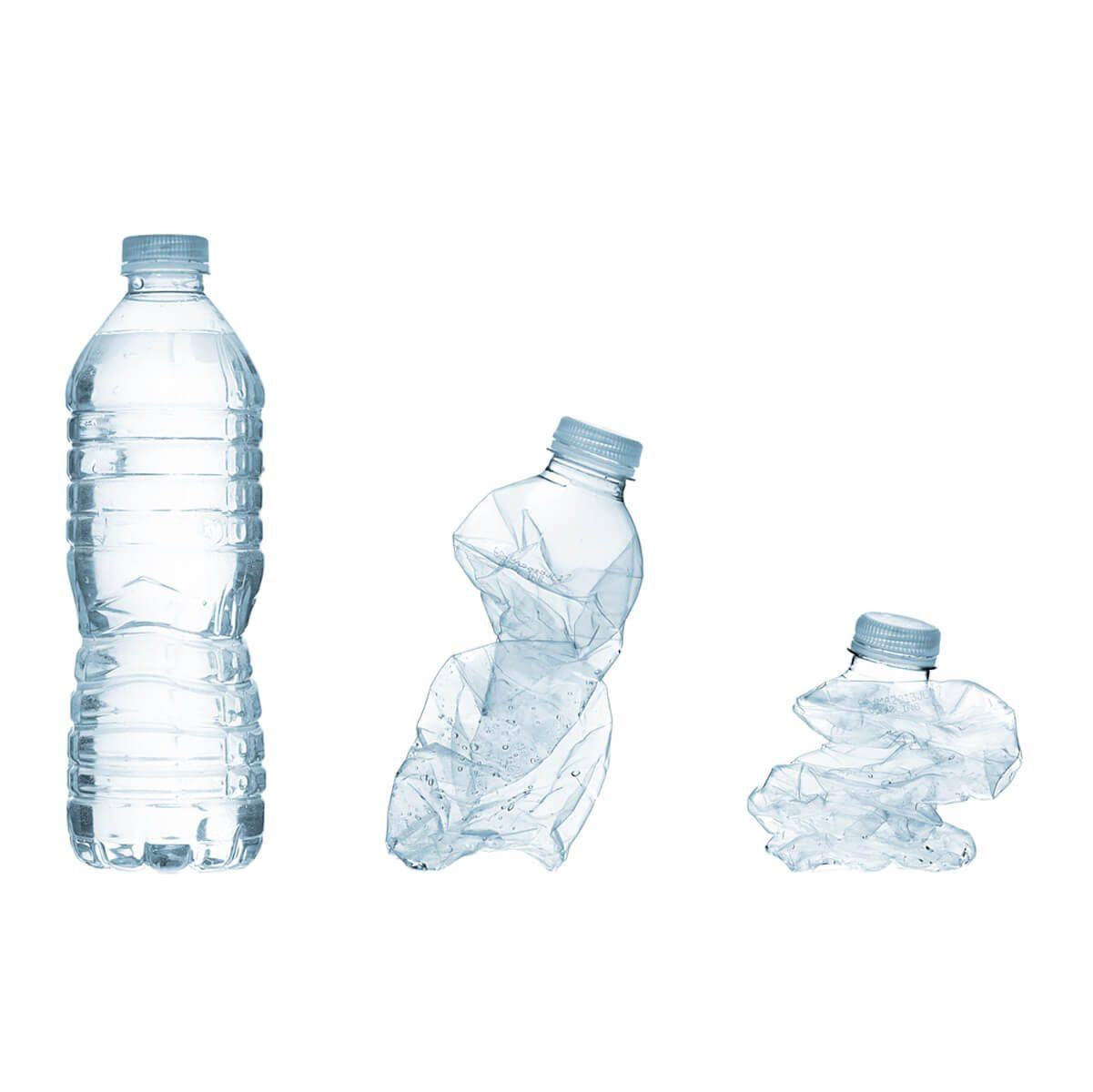 Crush Plastic Bottles