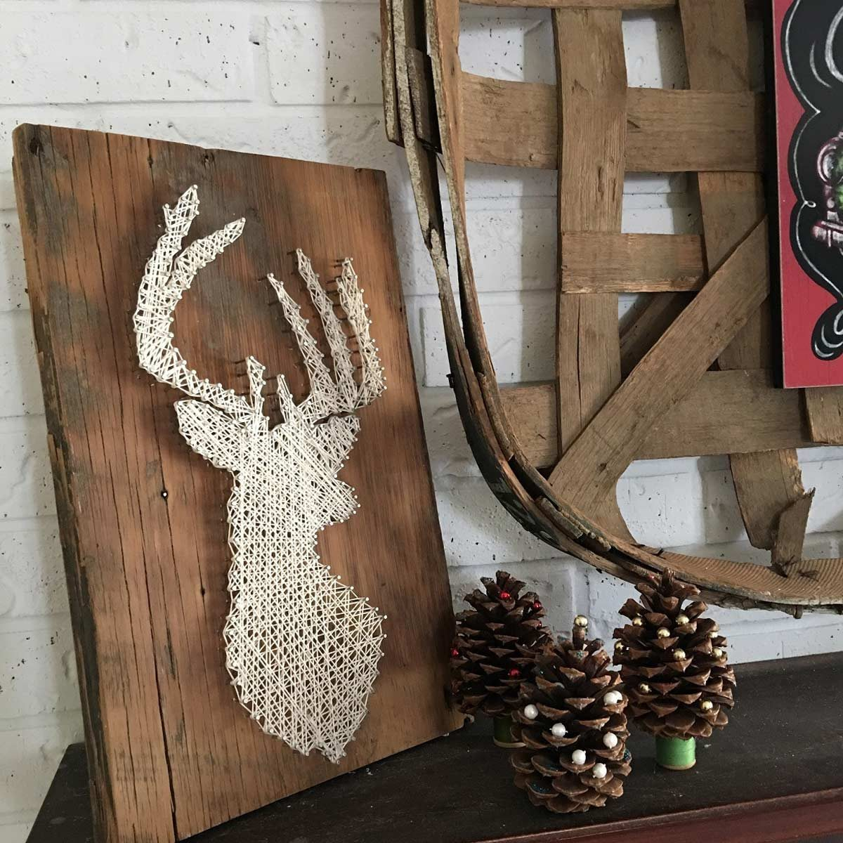 Holiday String Art