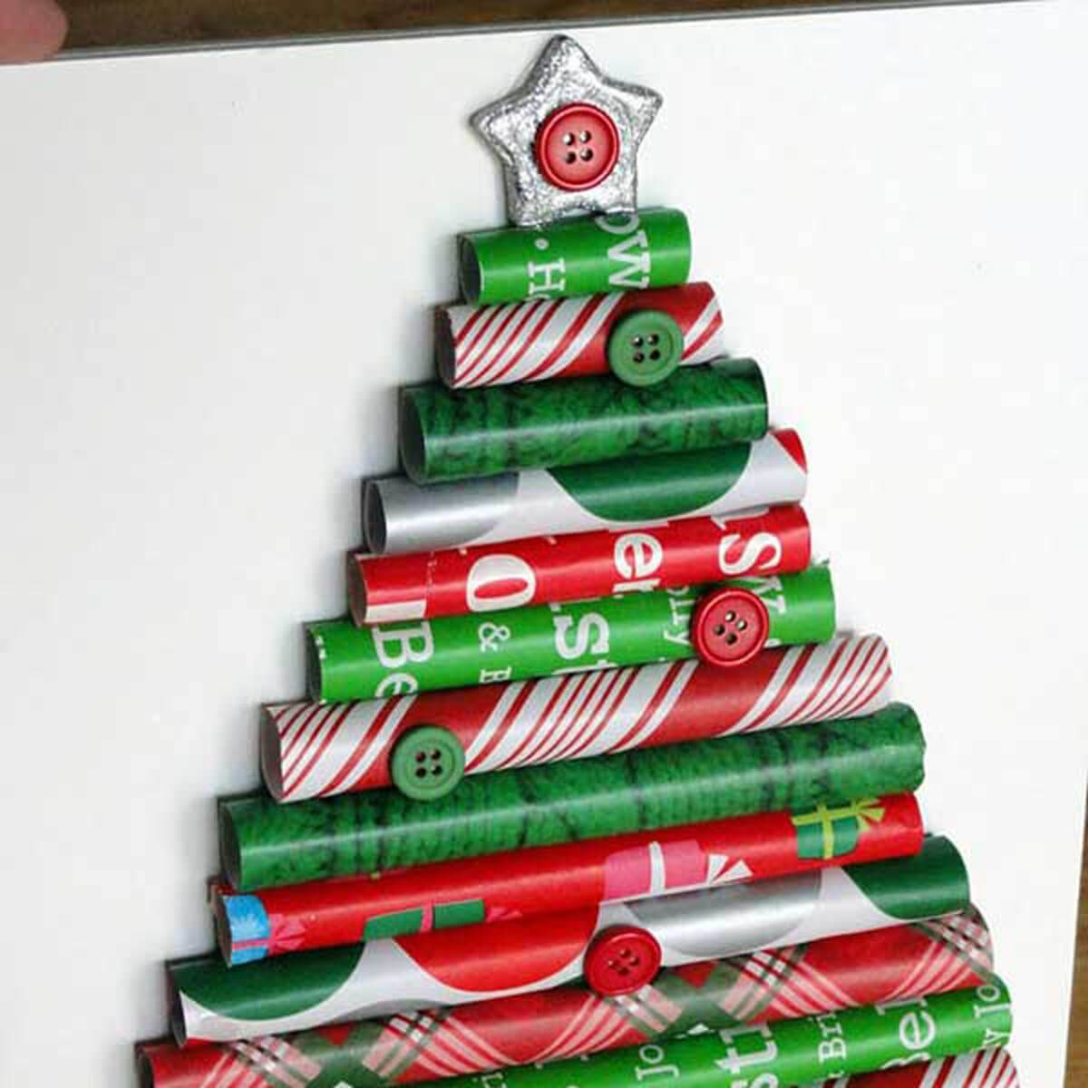 Gift Wrapped Christmas Tree