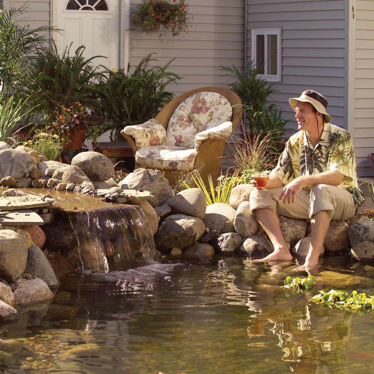 Build a Low-Maintenance Pond