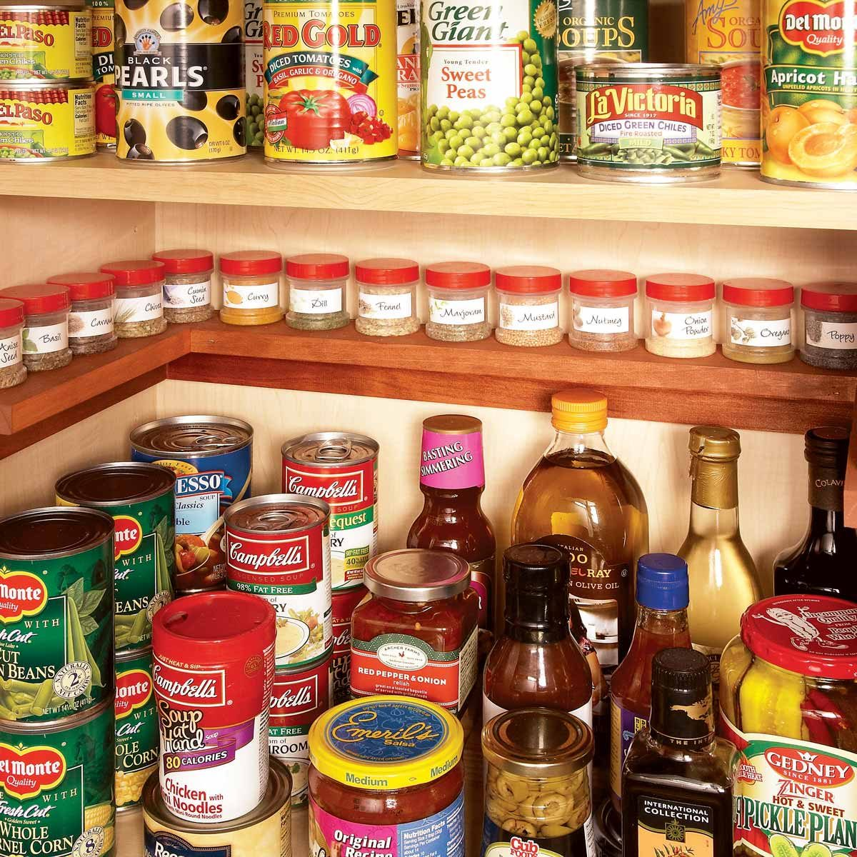 Spice Shelf Inside Cabinet