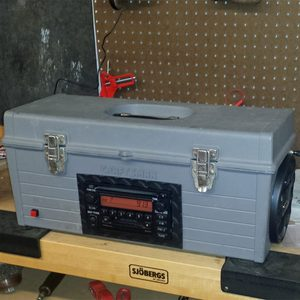 Reader Project: Toolbox with Radio