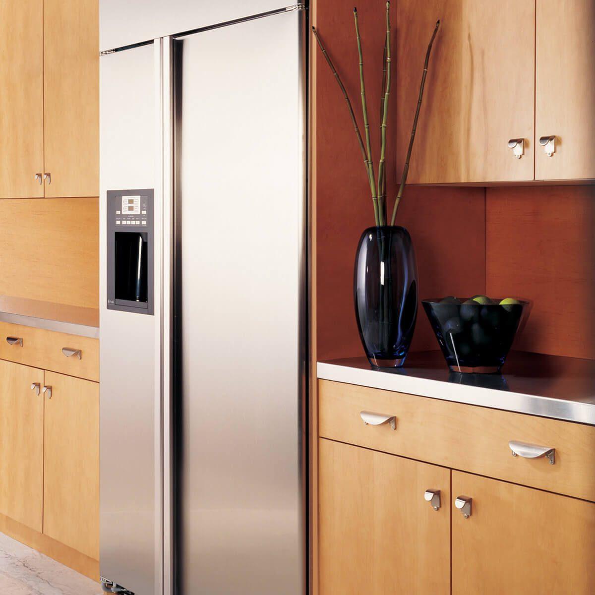 Consider a Cabinet-Depth Refrigerator