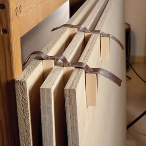 The Best Hack For Storing Plywood