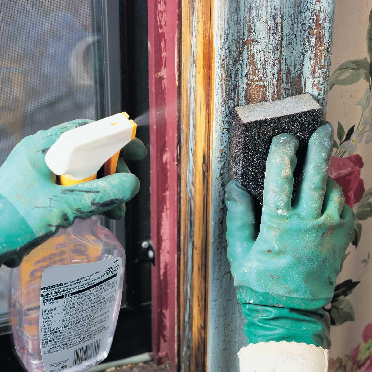 remove lead paint
