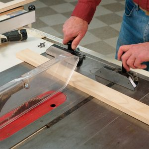 How to Cut Panels on a Table Saw