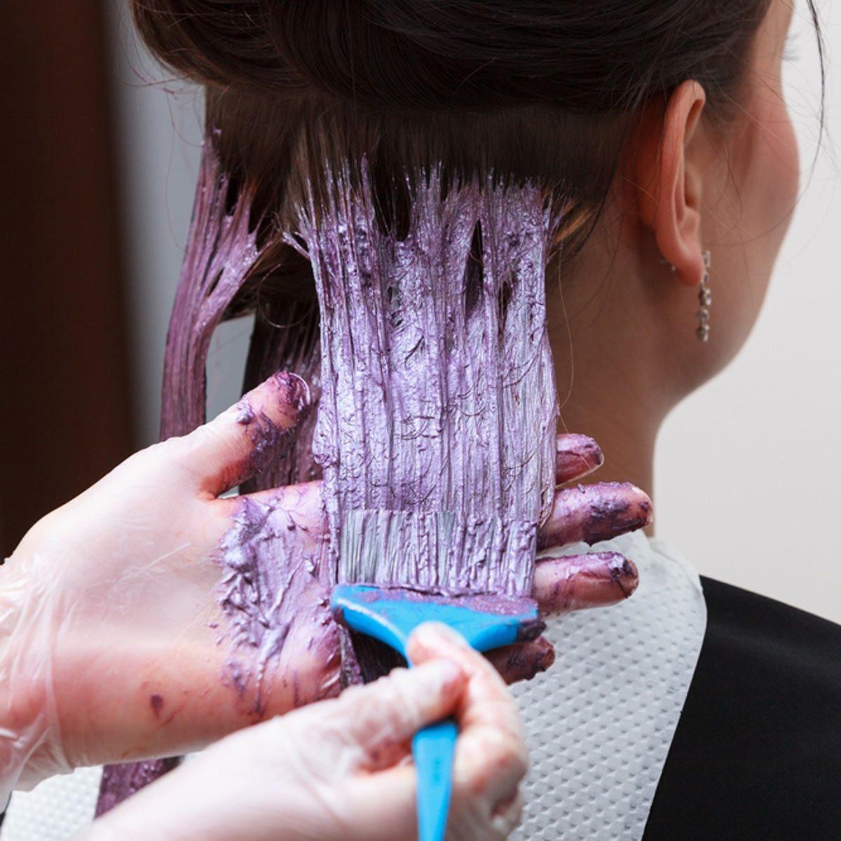 Clean Up Messy Hair Dye