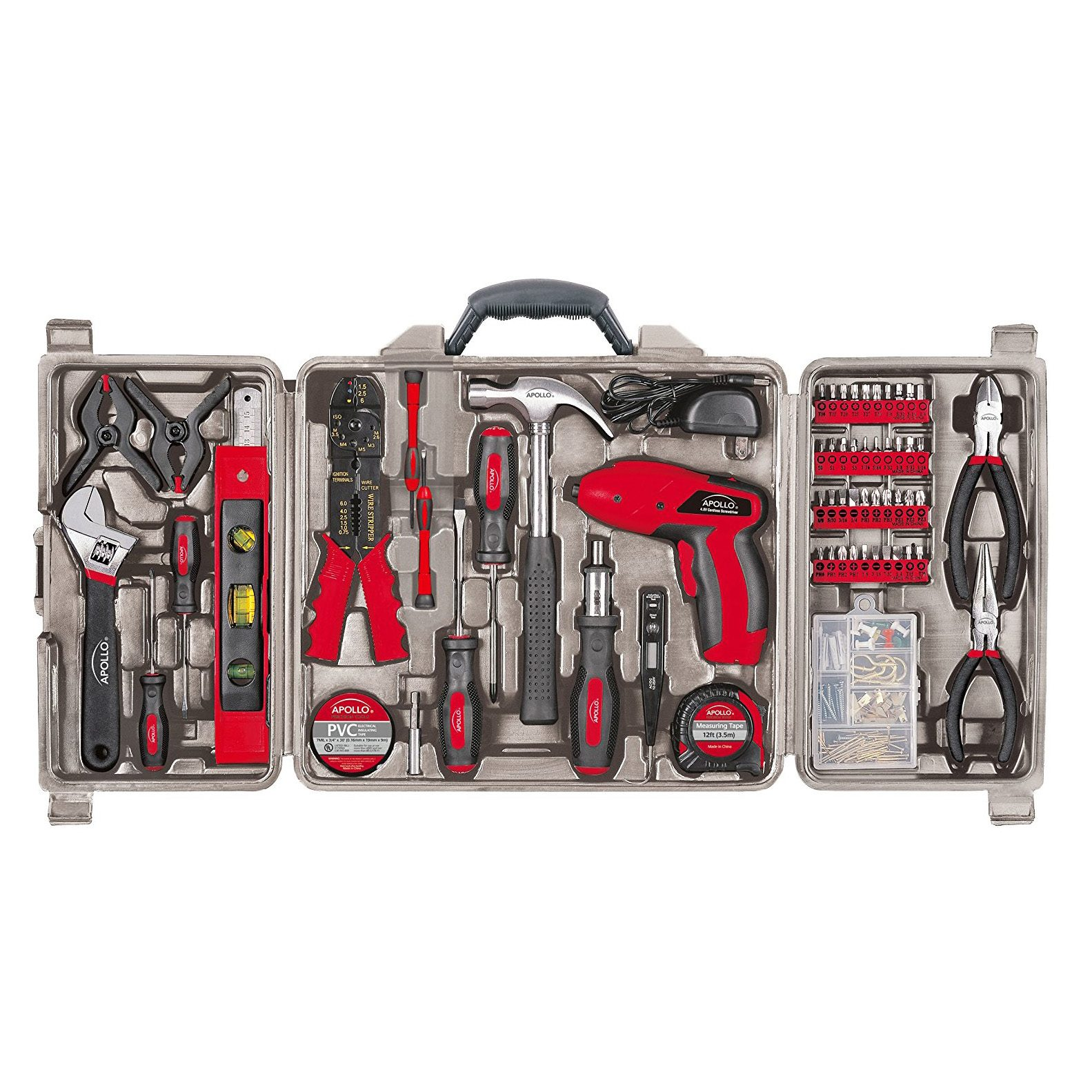 161 Piece Complete Household Tool Kit