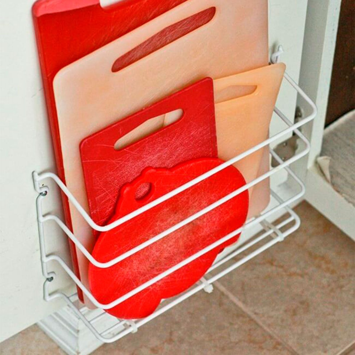 Organize those cutting boards