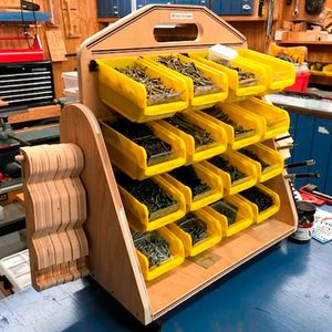 Reader Project: Versatile Portable Storage Bins