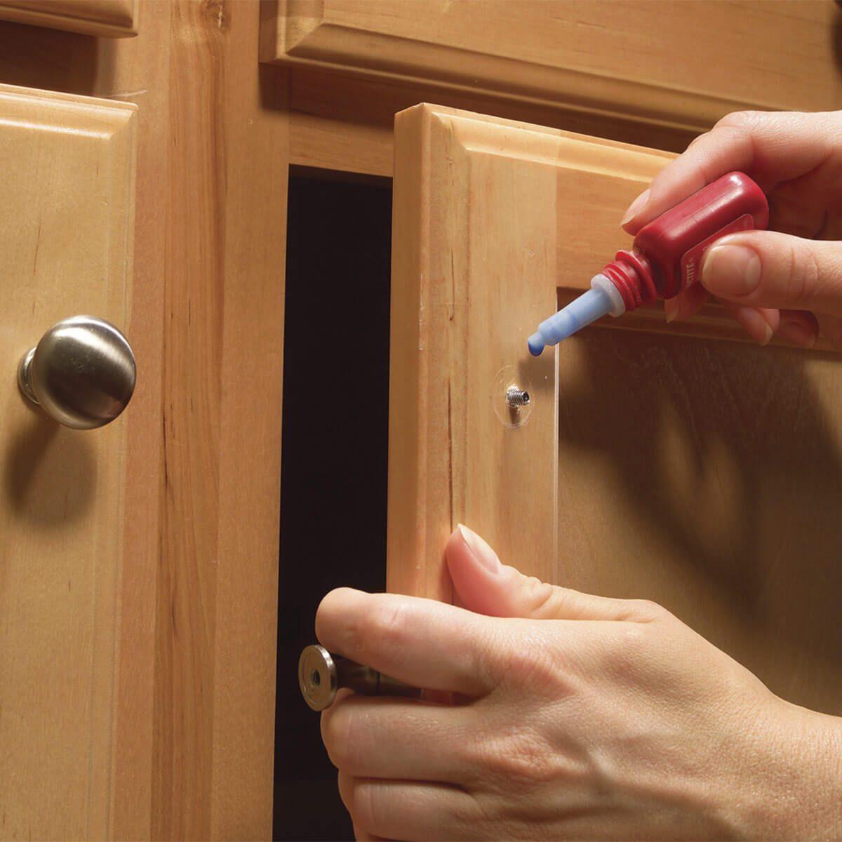 Fix a Loose Cabinet Knob