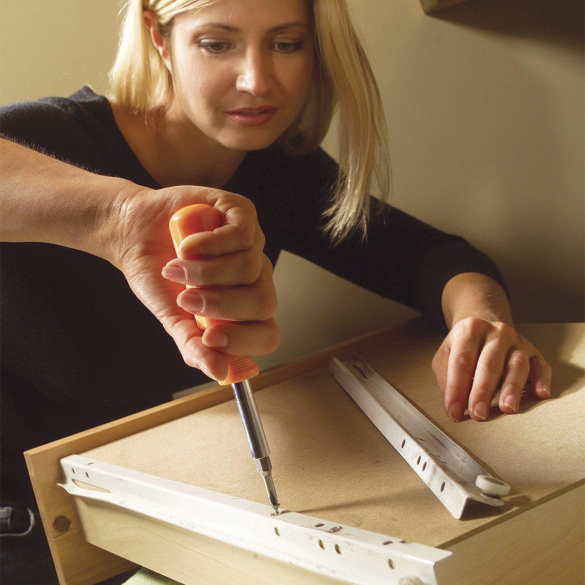 Replace Drawer Slides