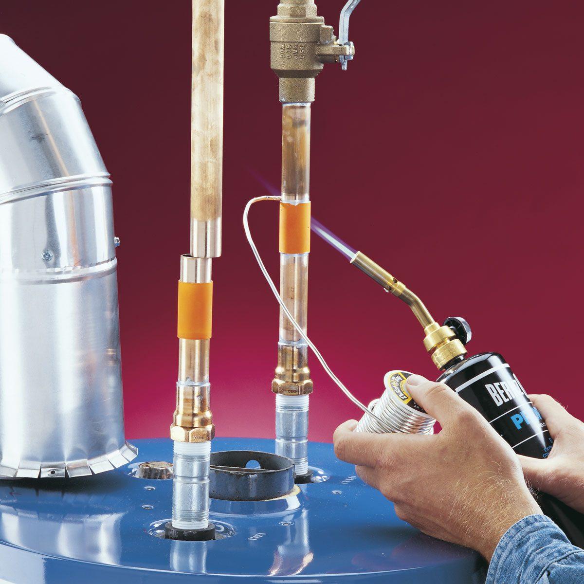 DIY Water Heater Installation