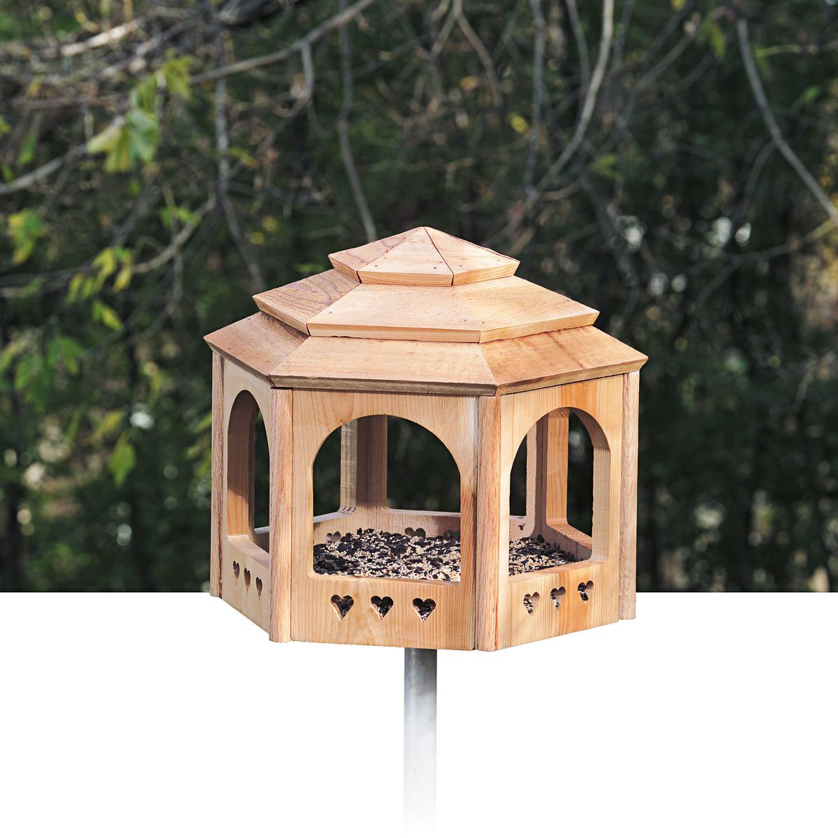 gazebo for the birds bird house