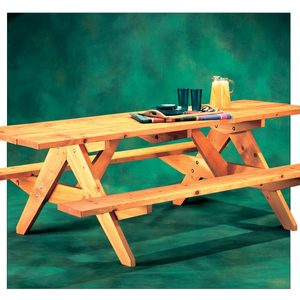 How to Build an A-Frame Picnic Table