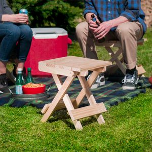 Saturday Morning Workshop: How To Build A Folding Stool