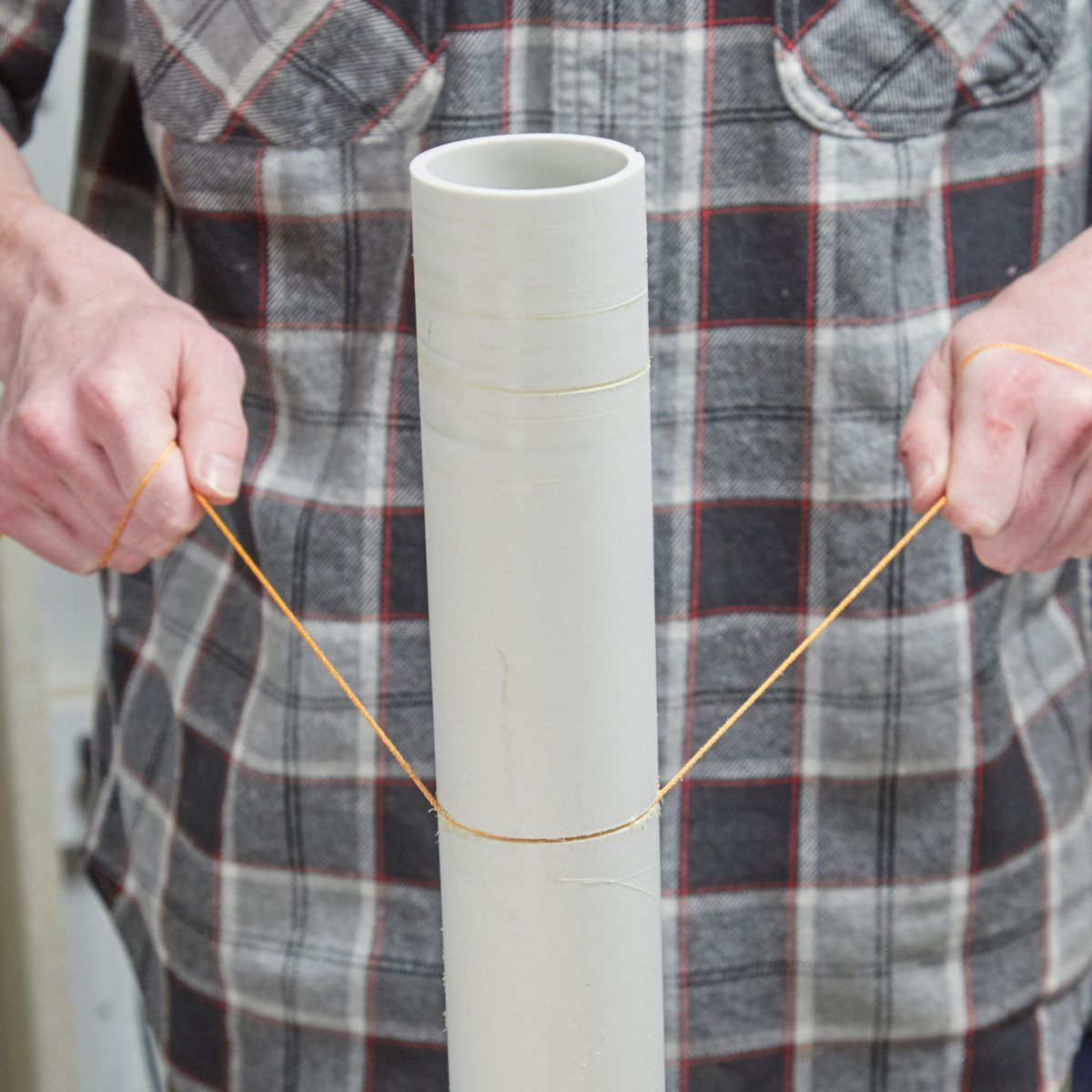 Cutting PVC With String