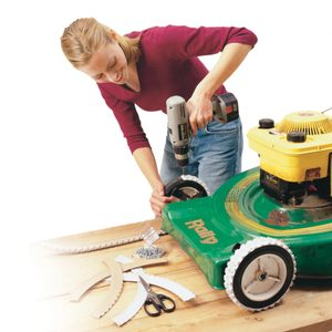 How to Get Nonslip Mower Treads