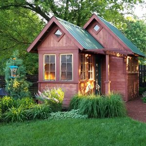 Reader Project: Cedar Garden Shed and Fire Pit