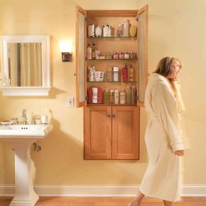 Built-in Bath Cabinet