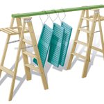 Hang 'Em Out to Dry Ladder Drying Rack