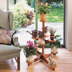 How to Build a Multi-Level Indoor Plant Stand