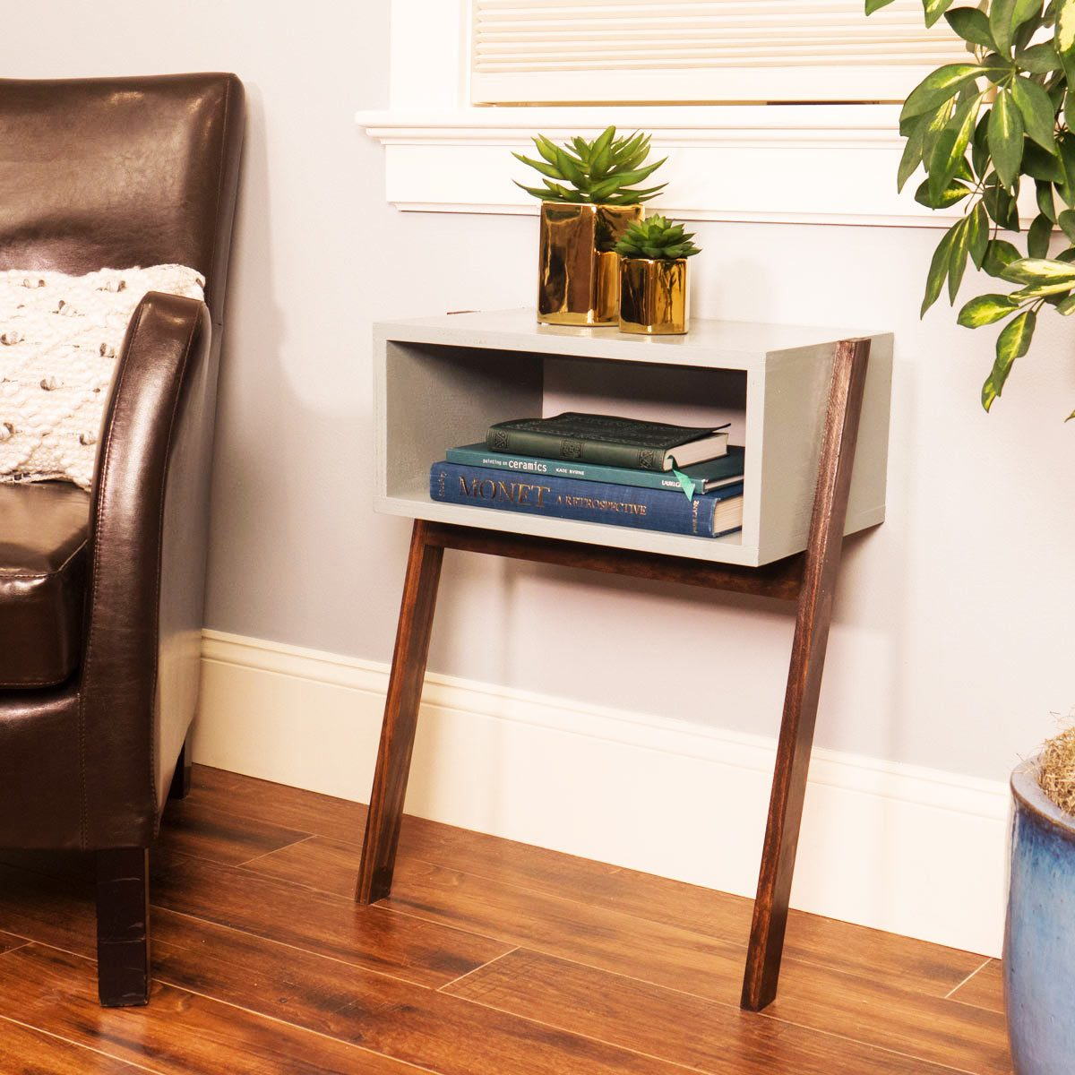 Cantilever End Table Featured