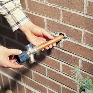 How to Install a Frost-Proof Outdoor Faucet