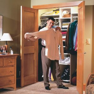 How to Build a Wall-to-Wall Closet with Doors