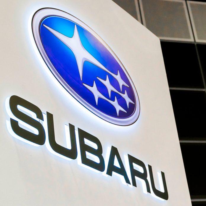 Subaru sign