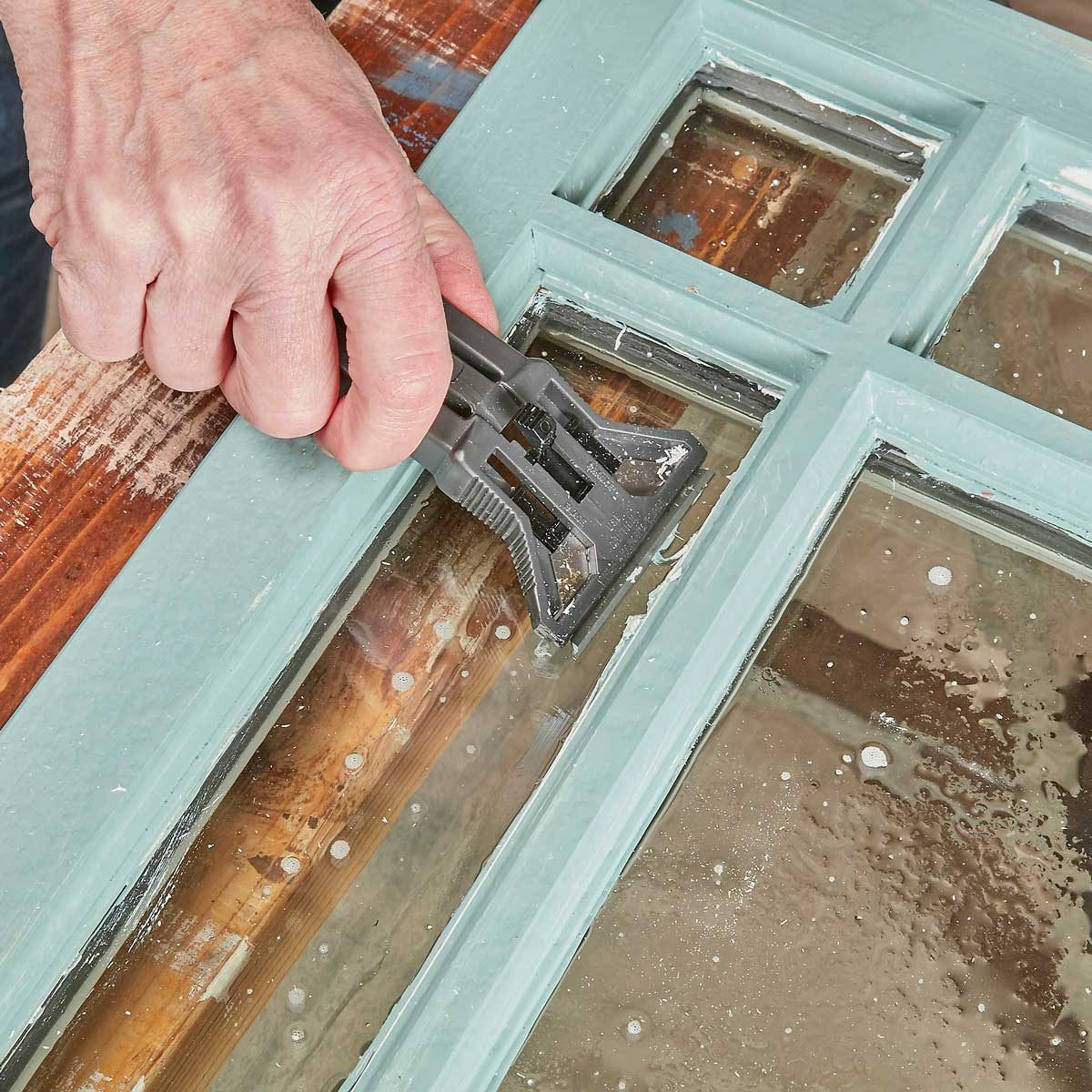 Repair and Reglaze Windows