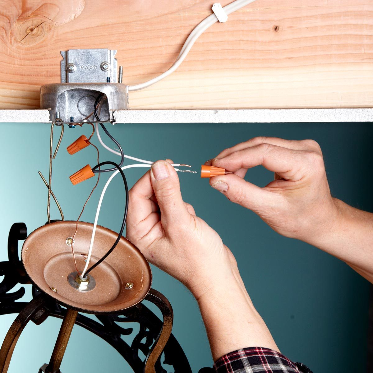 how to replace a light fixture